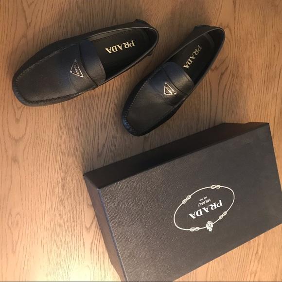 Prada Shoes | Mens Prada Saffiano